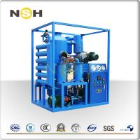 High Vacuum Insulation Oil Filtration Machine Portable System Heavy Duty Manufactures