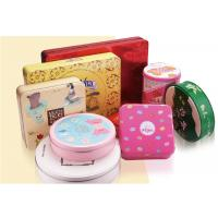 Biscuit Tin Can Custom Packaging Boxes Customized Mint Metal With Different Sizes Manufactures