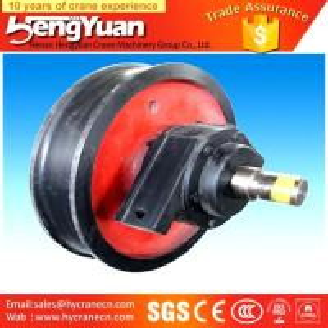 China High-Duty wrought crane wheels For overhead & gantry crane on sale
