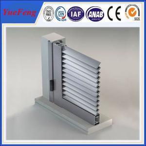 oval solid aluminium louvre profile, sliver 6063 t5 aluminum extrusion blade louver panels Manufactures
