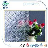 Window / Shower doors toughened Frosted Patterned Glass for indoor / oudoor Manufactures