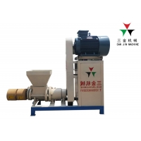 China 460kg/H Shaft Biomass Bamboo Charcoal Briquette Making Machine on sale
