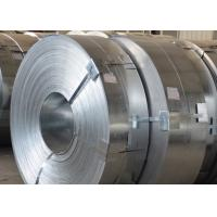 SPHC SS400 Hot Rolled Steel Metal Strips , Cold Rolled Galvanized Carbon Steel Strip Manufactures
