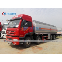 China FAW 30000L 80000Gal Fuel Delivery Tank Truck With Flow Meter on sale