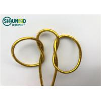Round Shape Garments Accessories Thread Braided Elastic String For Gift Packing Manufactures