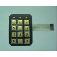 Electrical PC / PVC Waterproof Membrane Switch With 3M9448 / LES300 Adhesive Manufactures