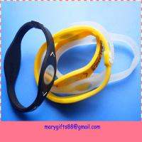 Power Disc Energy Cheap Balance Power Silicone Bracelet Manufactures