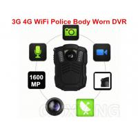 Small IP67 1080P Police Video 4G Body Worn Camera for Evidence Recording Manufactures