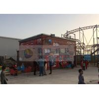 Outdoor 5D Cinema Equipment With Movement Seats And Special Effects Manufactures
