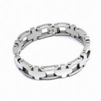 316L Stainless Steel Bracelet, Customized Designs Welcomed Manufactures