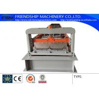 China PLC Control 0.6-1.0MM Thickness Color Steel Roof Panel Roll Forming Machine Used 1000MM Coil on sale
