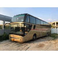 Strong Engine Large Used Commercial Bus 71 Seats Diesel Back Double Axles With AC Two Floor Manufactures