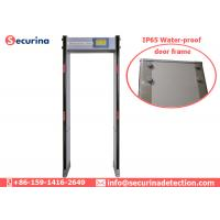China Digital 33 Detecting Zone Walk Through Security Gates Detector For Protection on sale