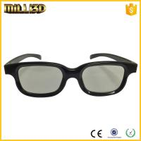 China factory passive circular/linear polarized 3d glasses for cinema wholesale