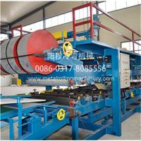 China EPS&Rock Wool Insulated Sandwich Panel Production Line on sale