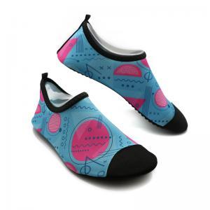 Soft Ladies Swim Shoes Durable Ladies Aqua Beach Shoes BSCI Certification Manufactures