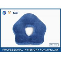 Unique Pentagon Memory Foam Sleep Pillow For Office Snooze , Anti-Apnea Manufactures