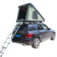 China Tearproof Canvas Heavy Duty ABS Shell Car Camping Tent on sale