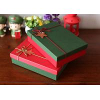 4C Offset Printed Packaging Boxes / Christmas Gift Boxes Scrathed Resistant Manufactures