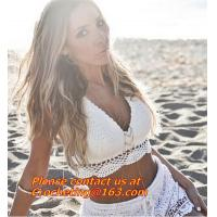 China Womens Bralet Bra Lace Crochet Floral Crop Tops Bustier Cami Tank Top Bikini Vest on sale