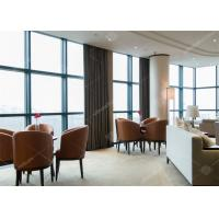 Modern Upholstery Commercial Restaurant Furniture With Wood Restaurant Chairs Manufactures