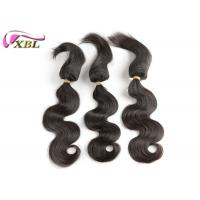 #1b 100% Human Virgin Brazilian Hair / Braid in Hair Extensions Manufactures