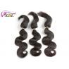 Buy cheap #1b 100% Human Virgin Brazilian Hair / Braid in Hair Extensions from wholesalers