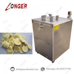 Buy cheap Banana Cutting Machine Banana Slicer Machine Plantain Slicing Machine Automatic from wholesalers