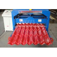 Metal Plate Rolling Glazed Tile Roll Forming Machine Equipments For Roof Manufactures