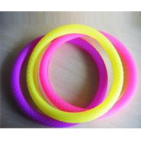 China Colorful silicone steering wheel cover on sale