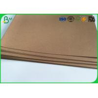 "Good Stiffness Brown Kraft Liner Paper 36"" 300gsm Tear Proof For Handbag Manufactures"