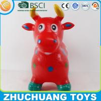 China custom color paint cow animal inflatable toy on sale