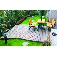 Engineered WPC Decking Flooring With Customized Color For Outdoor Decorative Manufactures