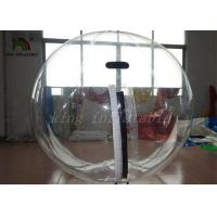 Clear PVC 2m Dia Inflatable Aqua Water Ball Nice Welds / YKK-zip From Japan Manufactures
