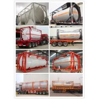 Chinese Compatitive Price 5000-12000 Liter LPG Tank Container with Good Quality (CLW8100) Manufactures