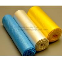 Trash Can Liners Bag Garbage bags on Perforated Roll,Office Bathrooms Business