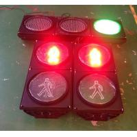 Custom enginering design diameter 300mm LED flashing  roadway traffic light Manufactures