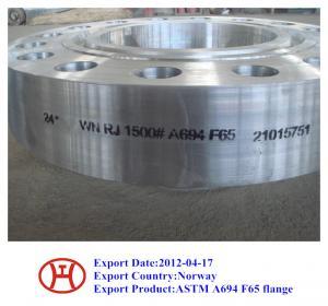 ASTM A694 F70 F65 F60 F52 F46 F42 WN SO Blind flange forging disc ring