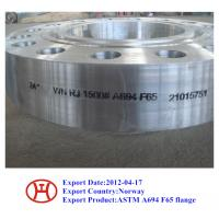 Quality ASTM A694 F70 F65 F60 F52 F46 F42 WN SO Blind flange forging disc ring for sale