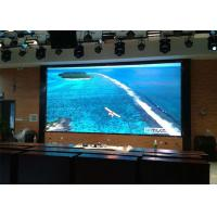 8mm Pixel Pitch Big Size LED Display Boards , LED Curtain Wall Display Smooth Surface Manufactures