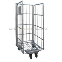 500kg Capacity Warehouse Equipments Euro Style Roll Container Powder Coating Finishes Manufactures