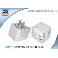 Quality Ultrasonic Thin Folding Pin Universal USB Power Adapter AC TO DC 2.4A US for sale