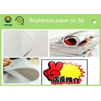 Durable 105 Gsm Glossy Laser Paper , Glossy Brochure Paper Moisture Proof Manufactures