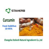 Raw Material Phytogenic Feed Additives , Turmeric Curcumin Powder 10-95% Purity Manufactures