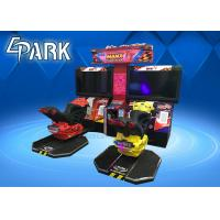 China 42 Inch Screen Motor Car Racing Two Player Arcade Game Machine on sale