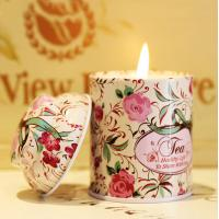Luxury Tin Scented Candle Handmade Jar Candles Manufactures