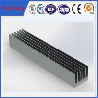 OEM 300 types per year anodized aluminum alloy profile extruded aluminum heatsink Manufactures