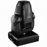 575W Wash Moving Head Light with 110 to 240V AC Voltage, 3 Primary Colors/Effect and CE20/22 Manufactures