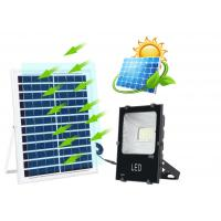 Outdoor LED Solar Street Security Flood Light 25W 40W IP67 6000K 2 Years Warranty Manufactures