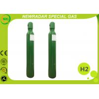 China 99.9999% UHP Hydrogen Gas Cylinder / Compressed Hydrogen Gas on sale